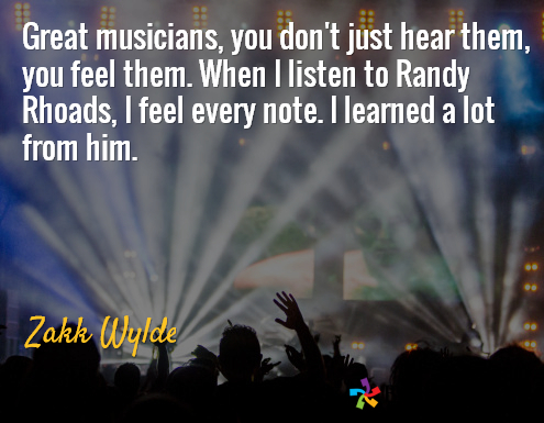 Zakk Wilde Randy Rhoads quote